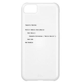 Visual Basic Hello World Greeting iPhone 5C Case