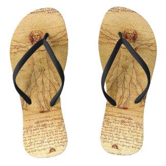 Vitruvian Man By Leonardo Da Vinci Thongs