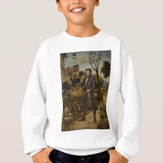 Vittore Carpaccio - Young Knight in a Landscape Sweatshirt