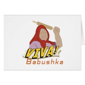 Viva Babushka Card