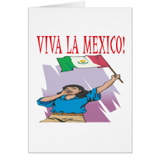 Viva La Mexico Card