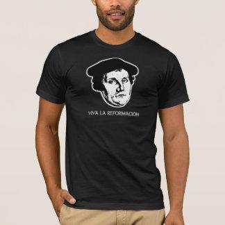 Viva La Reformación - Martin Luther (Dark) T-Shirt