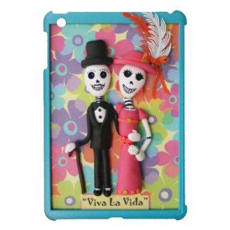 Viva La Vida Day of the Dead Skeleton Couple iPad Mini Case