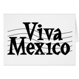 Viva Mexico Card