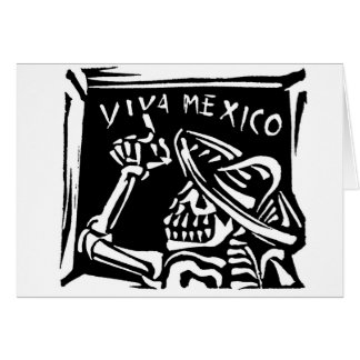 """Viva Mexico- Mexico's """"Day of the Dead"""" Card"""