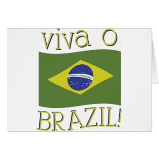 Viva O Brazil Card