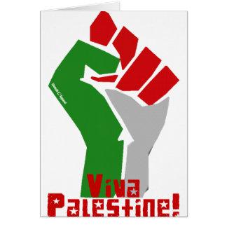 Viva Palestine Card
