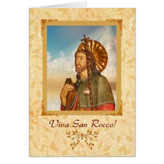Viva San Rocco - Blank Note Card
