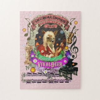 Vivaldeer Great Animal Composer Vivaldi Parody Puzzle