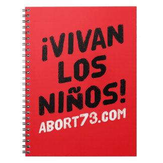 ¡Vivan los Niños! / Abort73.com Notebooks