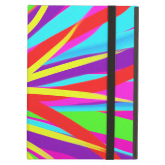 Vivid Colorful Paint Brush Strokes Girly Art Cover For iPad Air