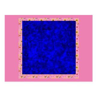 Vivid Colors, deep blue Postcard