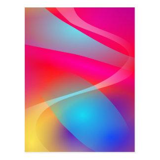 Vivid Colours Postcard