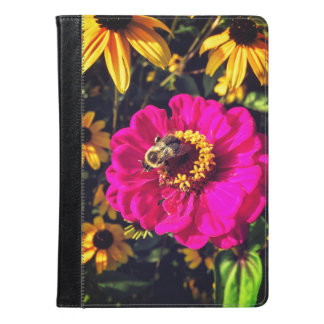 Vivid Flowers with Bee iPad Air Case