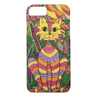 Vivid Garden Cat 2 iPhone 8/7 Case