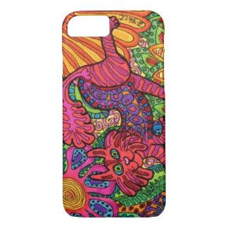 Vivid Garden Cat iPhone 8/7 Case