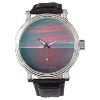 Vivid Ocean Sunset Watch