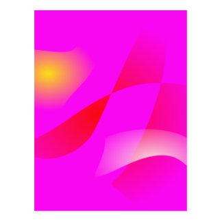 Vivid Pink Post Cards