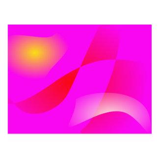 Vivid Pink Post Card