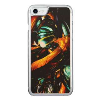 Vivid Shadows Abstract Carved iPhone 8/7 Case