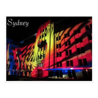 vivid sydney bright mca postcards