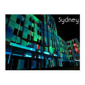 vivid sydney mca green post card