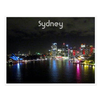 vivid sydney night postcards