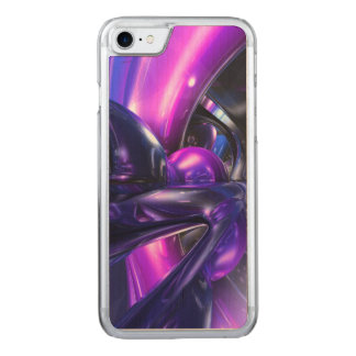 Vivid Waves Abstract Carved iPhone 8/7 Case