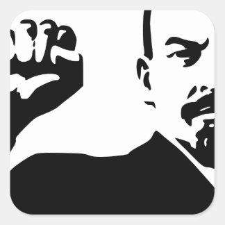 Vladimir Lenin Square Sticker