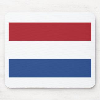 Vlag van Nederland - Flag of the Netherlands Mouse Pad