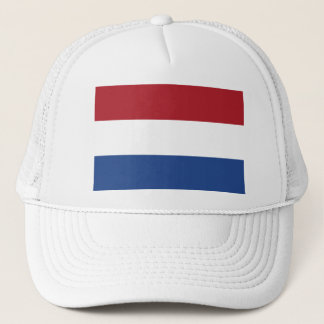 Vlag van Nederland - Flag of the Netherlands Trucker Hat