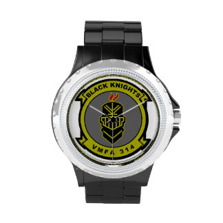 VMFA-314 Black Knights Wristwatch