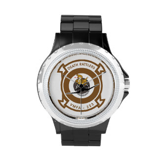 VMFA-323 Death Rattlers Wristwatch