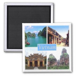 VN * Vietnam - Hue & Hoi An & My Son & Halong Bay Magnet