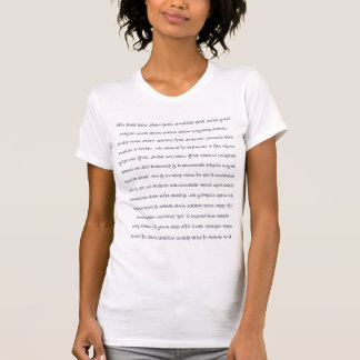 Vocal technique for mirror work tshirt