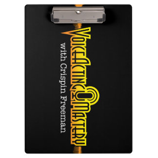 Voice Acting Mastery Clipboard - Black