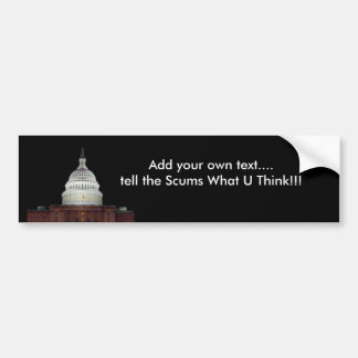 Voice your  OWN OPINION Bumper Sticker