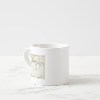 Volcanic Activity Map Espresso Mug
