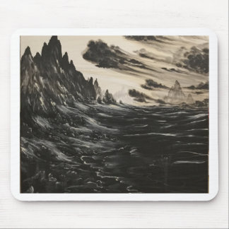 Volcanic Shore Mouse Pad