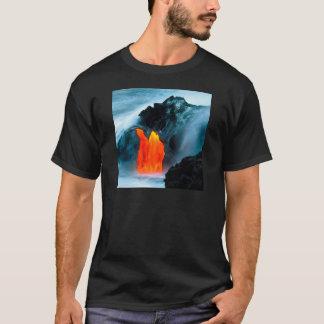 Volcano Lava Flow From Kilauea Hawaii T-Shirt