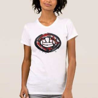 Volleyball Abstract Horns Tshirt