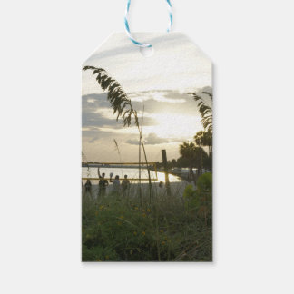 Volleyball at the Beach Gift Tags