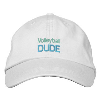 VOLLEYBALL DUDE cap Embroidered Hat