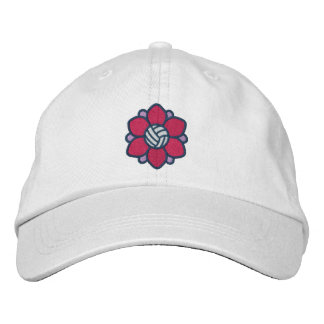 Volleyball Girl Cap Embroidered Hats