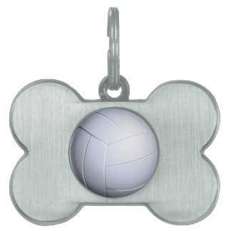 Volleyball Pet ID Tag