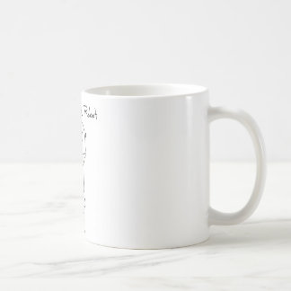 Volleyball Robot Basic White Mug