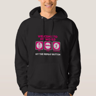 Volleyball Welcome to my world Hoodie