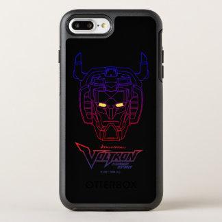 Voltron | Blue-Red Gradient Head Outline OtterBox Symmetry iPhone 8 Plus/7 Plus Case