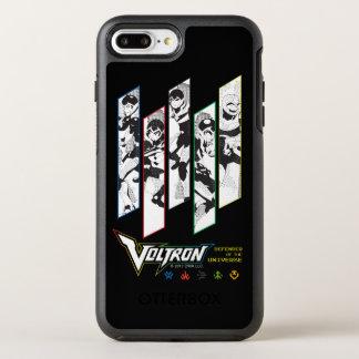 Voltron | Classic Pilots Halftone Panels OtterBox Symmetry iPhone 8 Plus/7 Plus Case