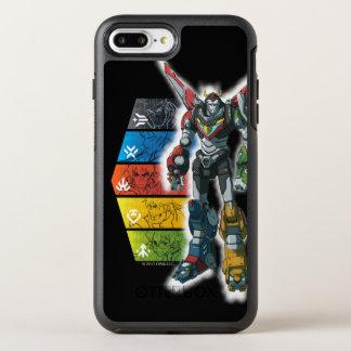 Voltron | Voltron And Pilots Graphic OtterBox Symmetry iPhone 8 Plus/7 Plus Case